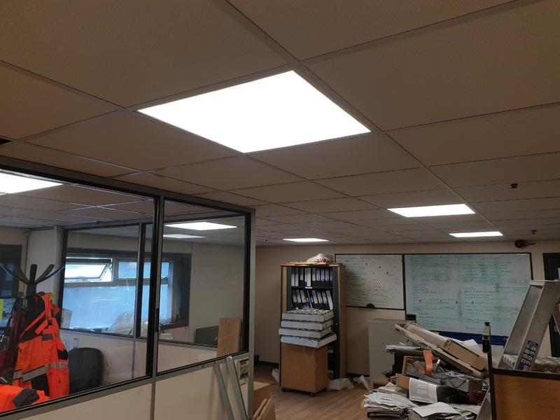 aluminium frame glass partitions