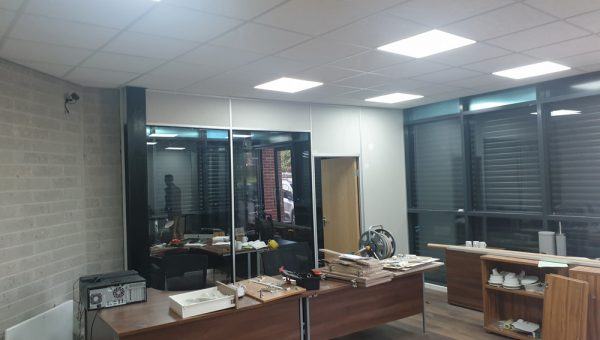 glass partition installation manchester